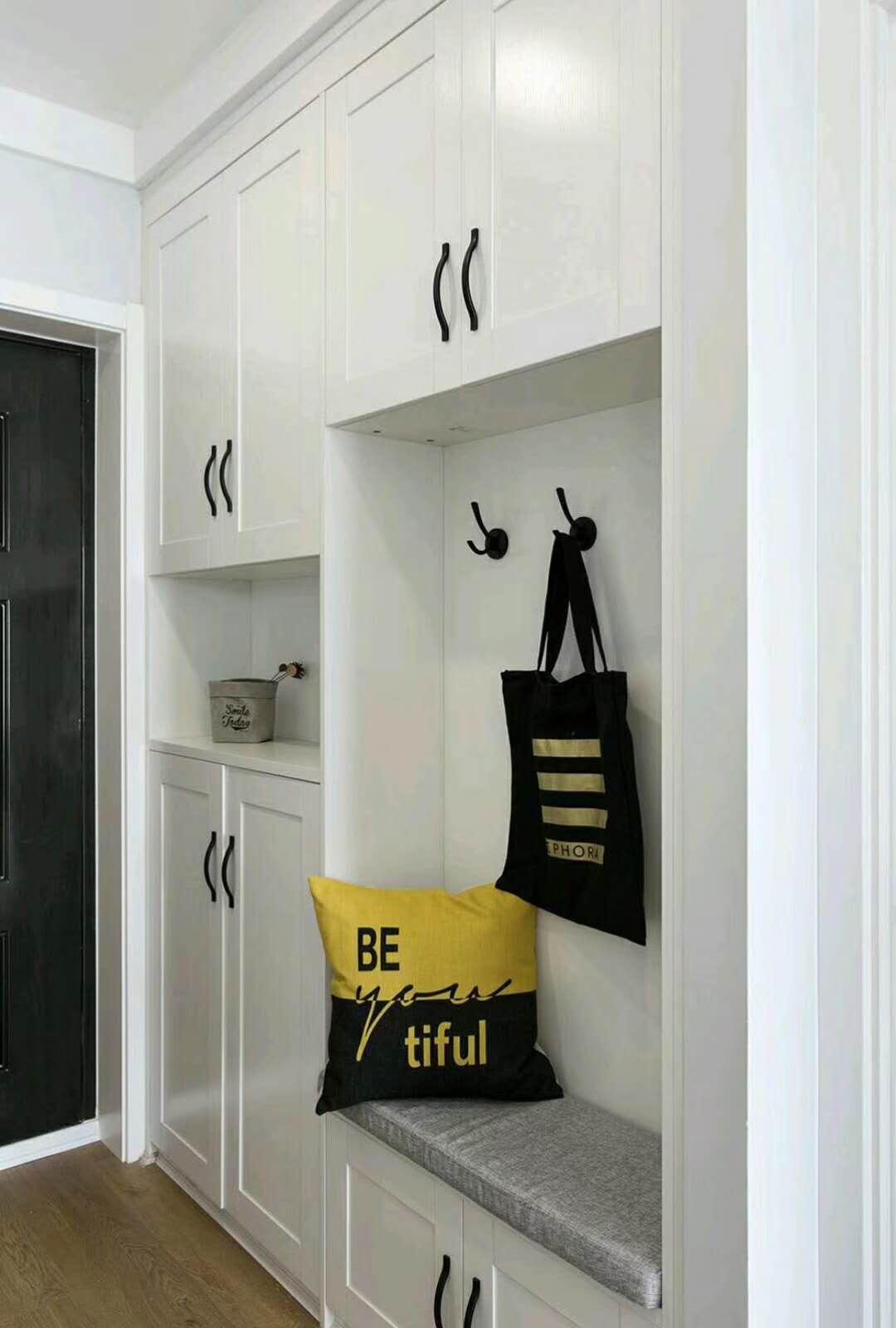 北欧二居室装修鞋柜图片