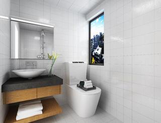 混搭二居装修卫生间效果图