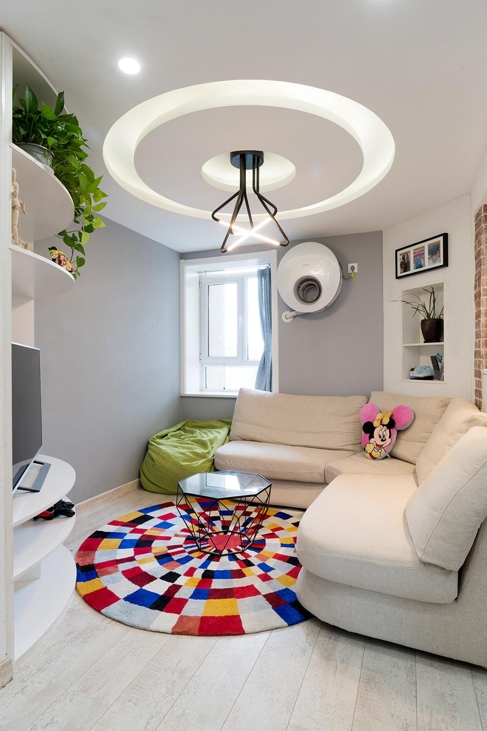 56平小户型装修客厅布置图