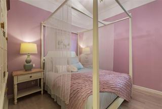130㎡欧式风格家卧室效果图