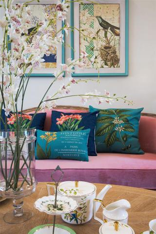 130㎡欧式风格家沙发图片