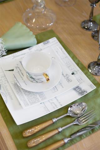130㎡欧式风格家餐具特写