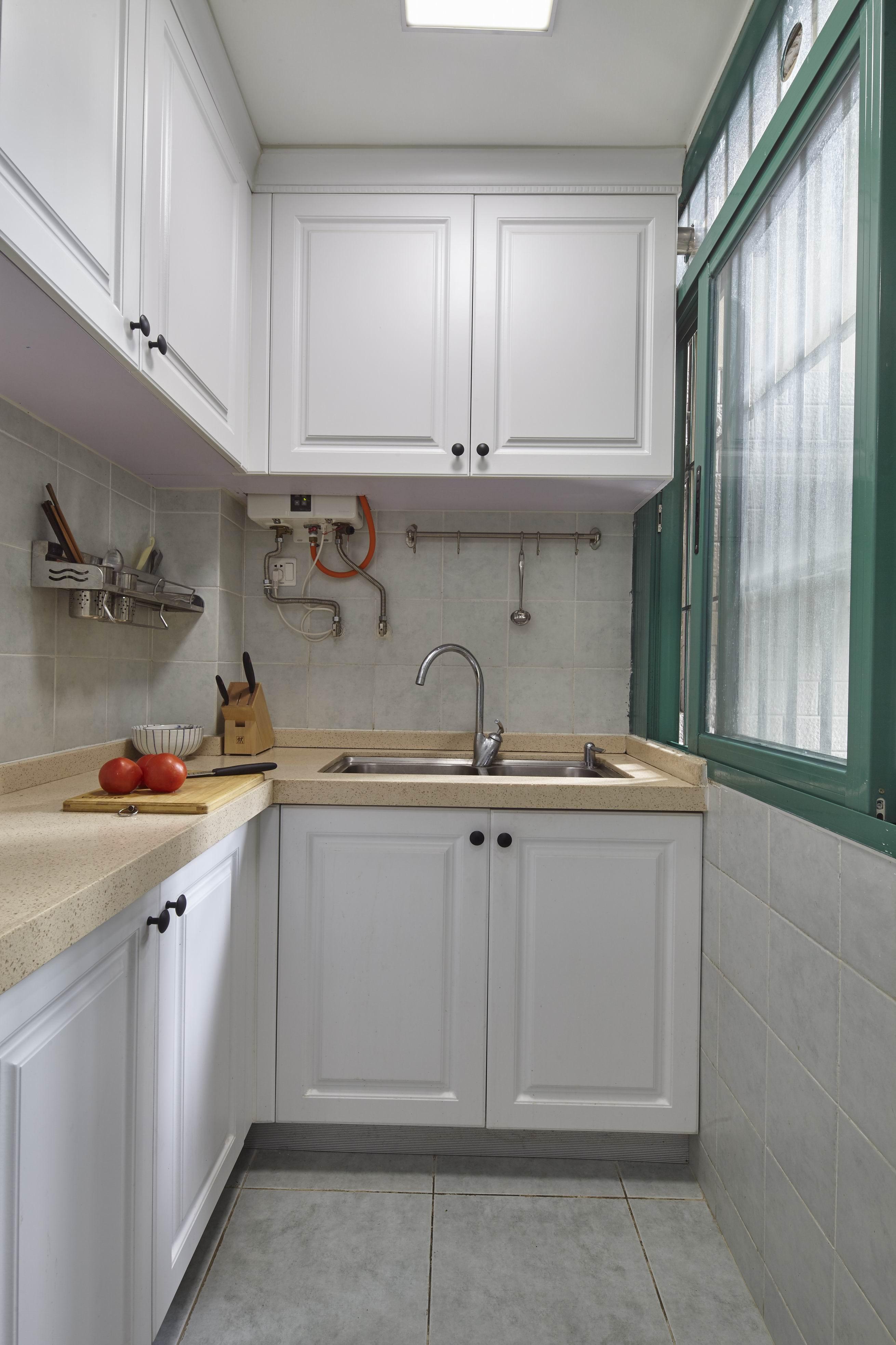 二居室美式之家橱柜图片