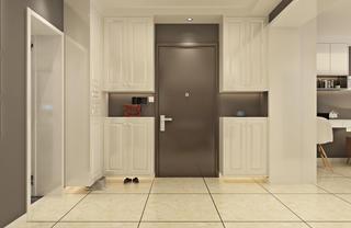 北欧二居装修玄关设计