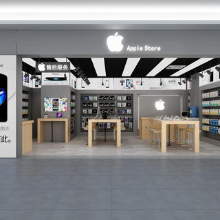苹果手机店装修效果图