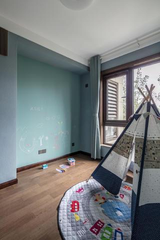 140㎡简约装修儿童房背景墙设计