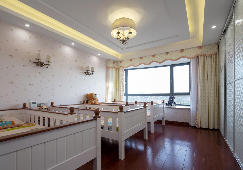245㎡中式装修婴儿房设计图