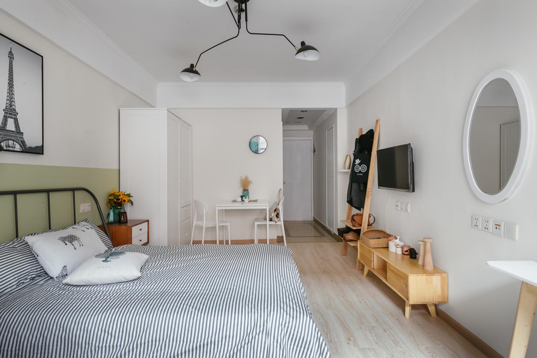 混搭风格公寓经济型60平米餐厅餐桌效果图_齐家网装修