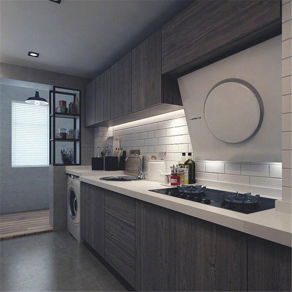 loft二居室装修厨房欣赏图