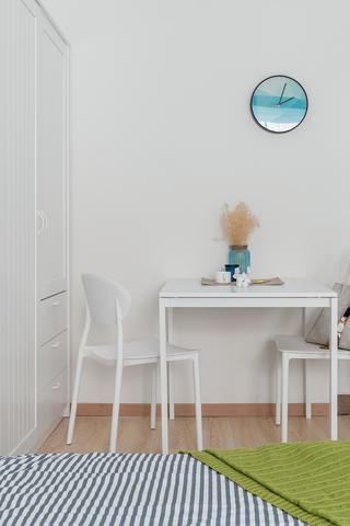 60平北欧风公寓装修卧室效果图