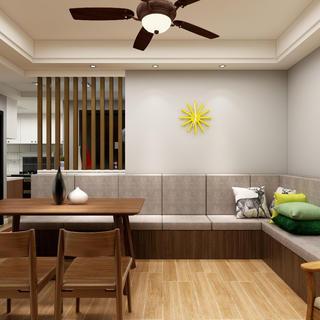 80平三居室空间 够大够宽敞