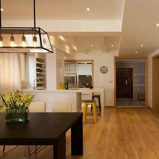 三居室现代简约装修 简而实用