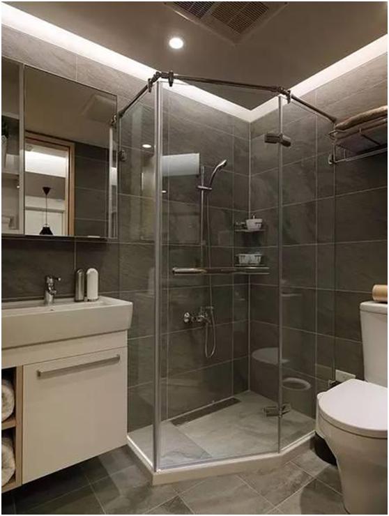 5款长方形卫生间设计,你喜欢哪种布局?