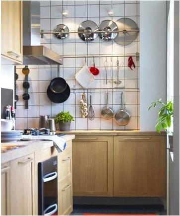 面积小的厨房怎么设计装修?图片