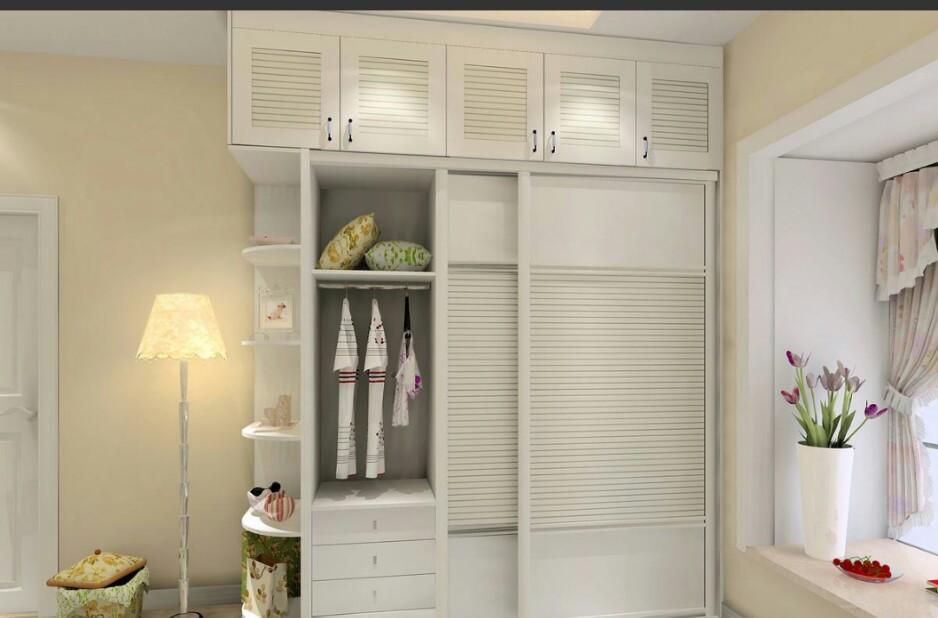 請問臥室衣柜用什么顏色好?