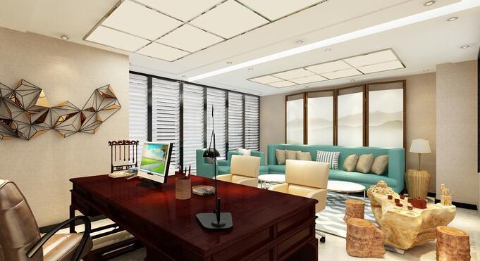 后现代装修风格适合办公室装修吗?