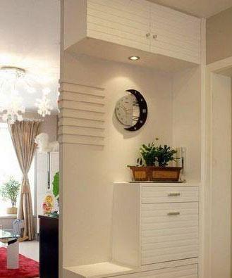 无论是大户型或是小户型,都可以很有气质,门厅鞋柜装修可以看看下面