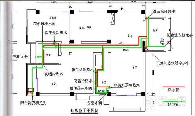 ▲▲▲水路施工平面图