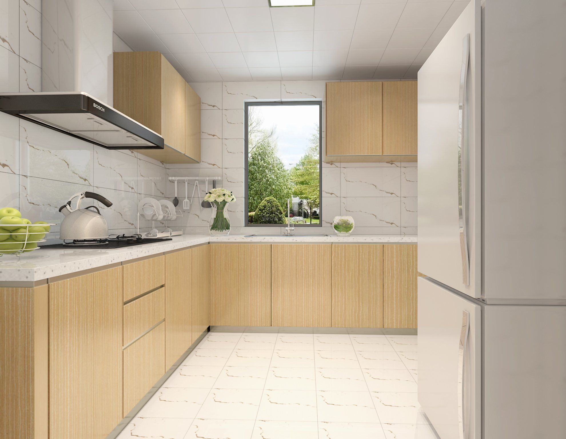 橱柜设计主要还是以:现代风格,欧式风格,地中海风格,日系,原木,红橡