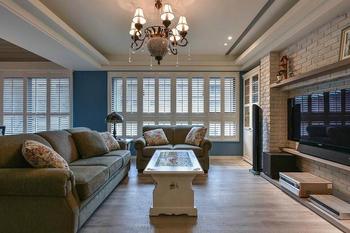 房屋类型:3室2厅2卫1厨 明星设计师:曲俞桦 装修风格:欧式田园风格