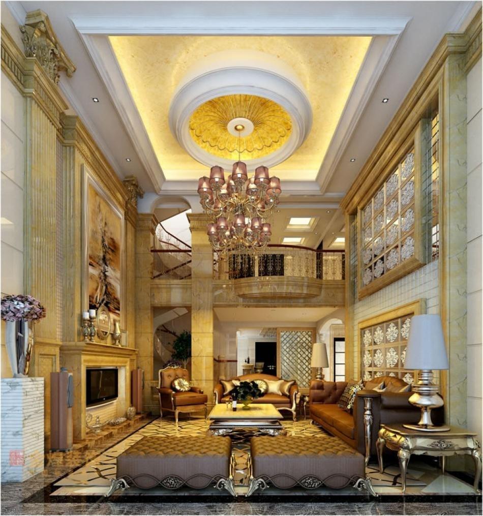 现代欧式风格设计从简单到繁杂,从整体到局部,精雕细琢,镶花刻金都给