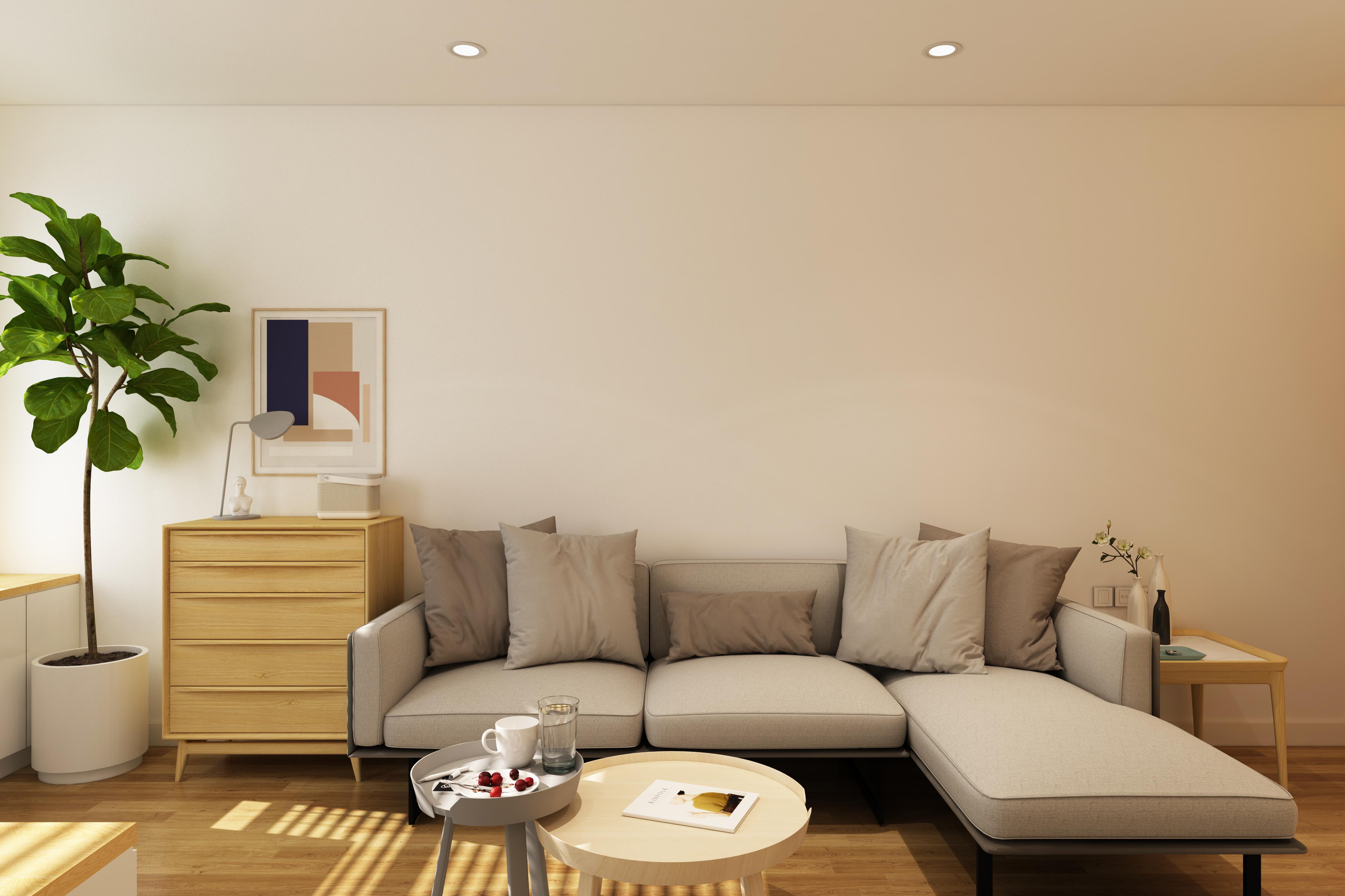 45m小户型loft公寓走心设计,公租房装修成北欧风高级住