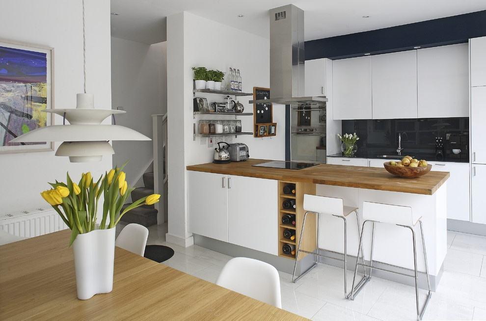楼主也别太灰心,就算不是开放式厨房只要装修得当的话,也是能够做出