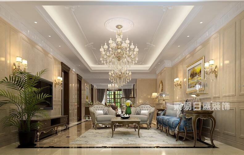 客厅吊顶装修步骤 客厅吊顶装修前首先要确定好吊顶的各个尺寸,用