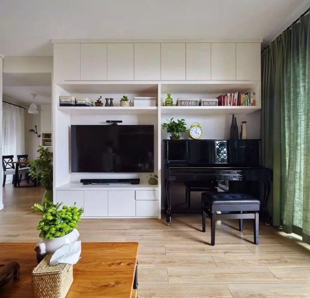 客厅不以电视背景墙为中心的北欧风格,这才叫生活!