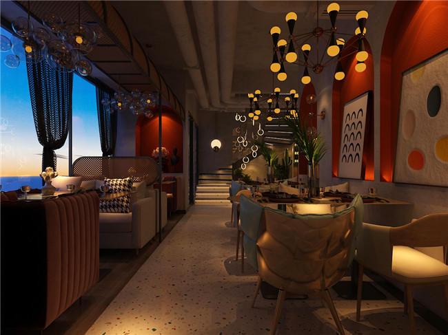 餐廳用餐區設計效果圖