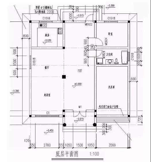 分享【好乐居轻钢别墅】338平米建筑别墅平面图设计效果