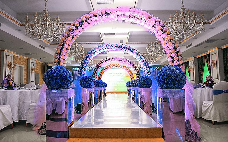 婚礼大厅设计图片