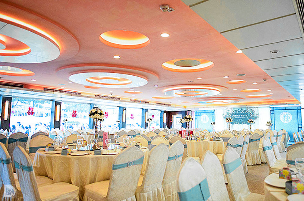婚庆 上海婚宴酒店 中国人寿号【佰吉时游轮婚礼会馆】  宴会厅 露天