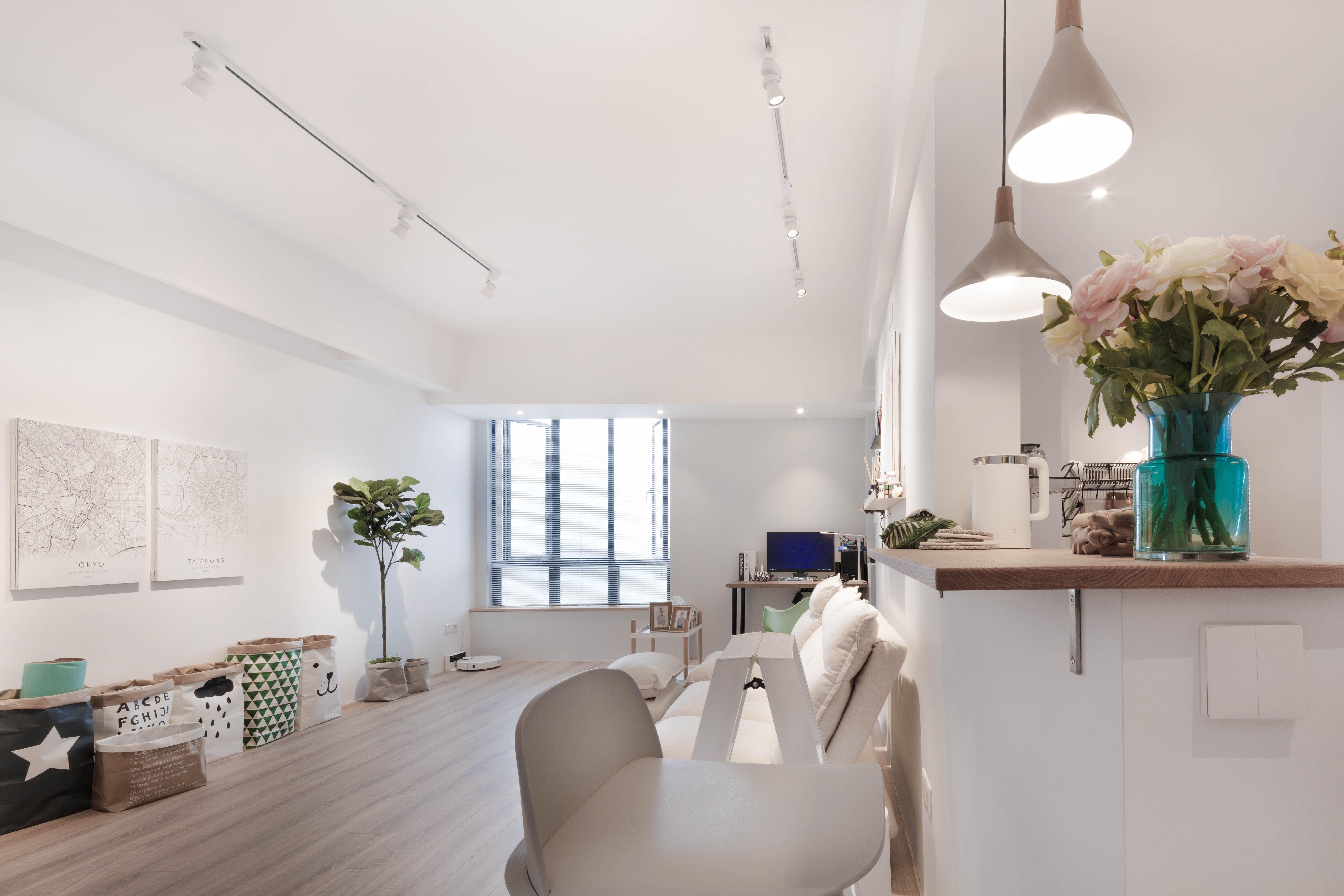 简约风格实用客厅设计图