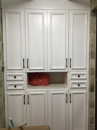 美式温馨家装修阳台储物柜图片图片