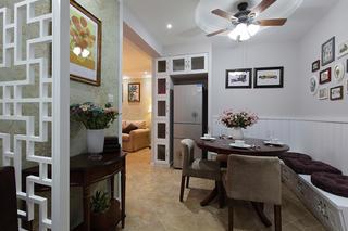 美式风格两居室餐厅装修效果图
