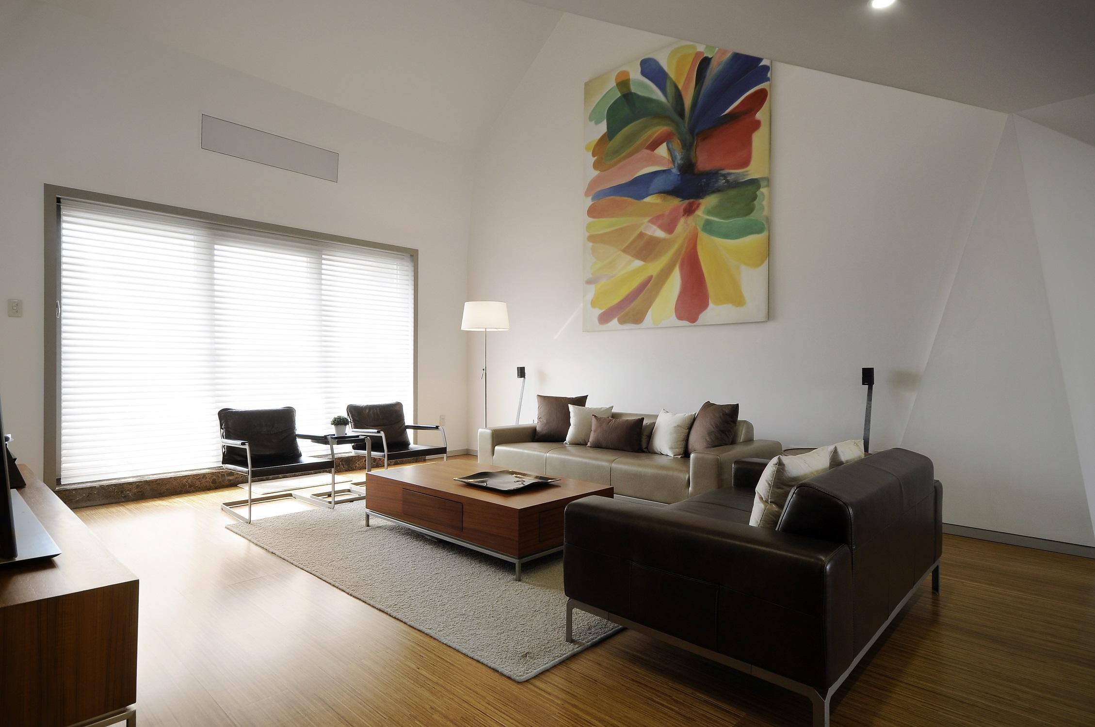 简约风格卧室复式住宅白色厨房2014客厅窗帘设计图