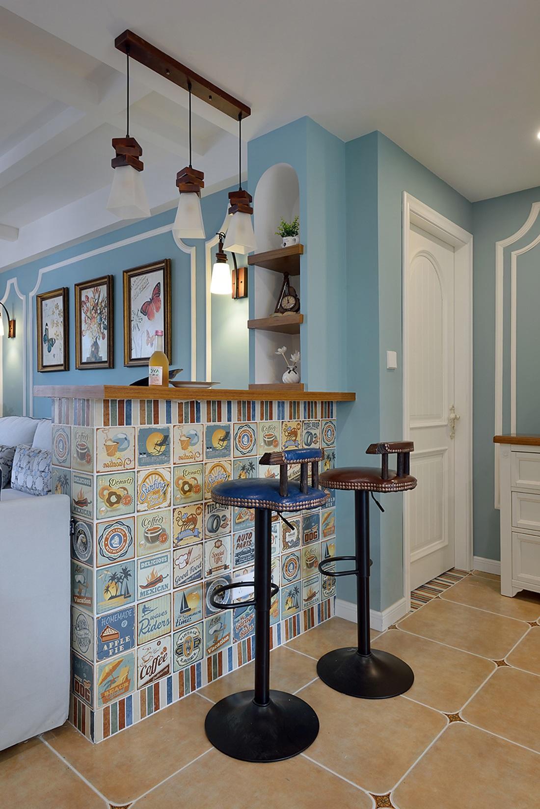 装修效果图 家居美图 美容院吧台设计装饰图片  收藏