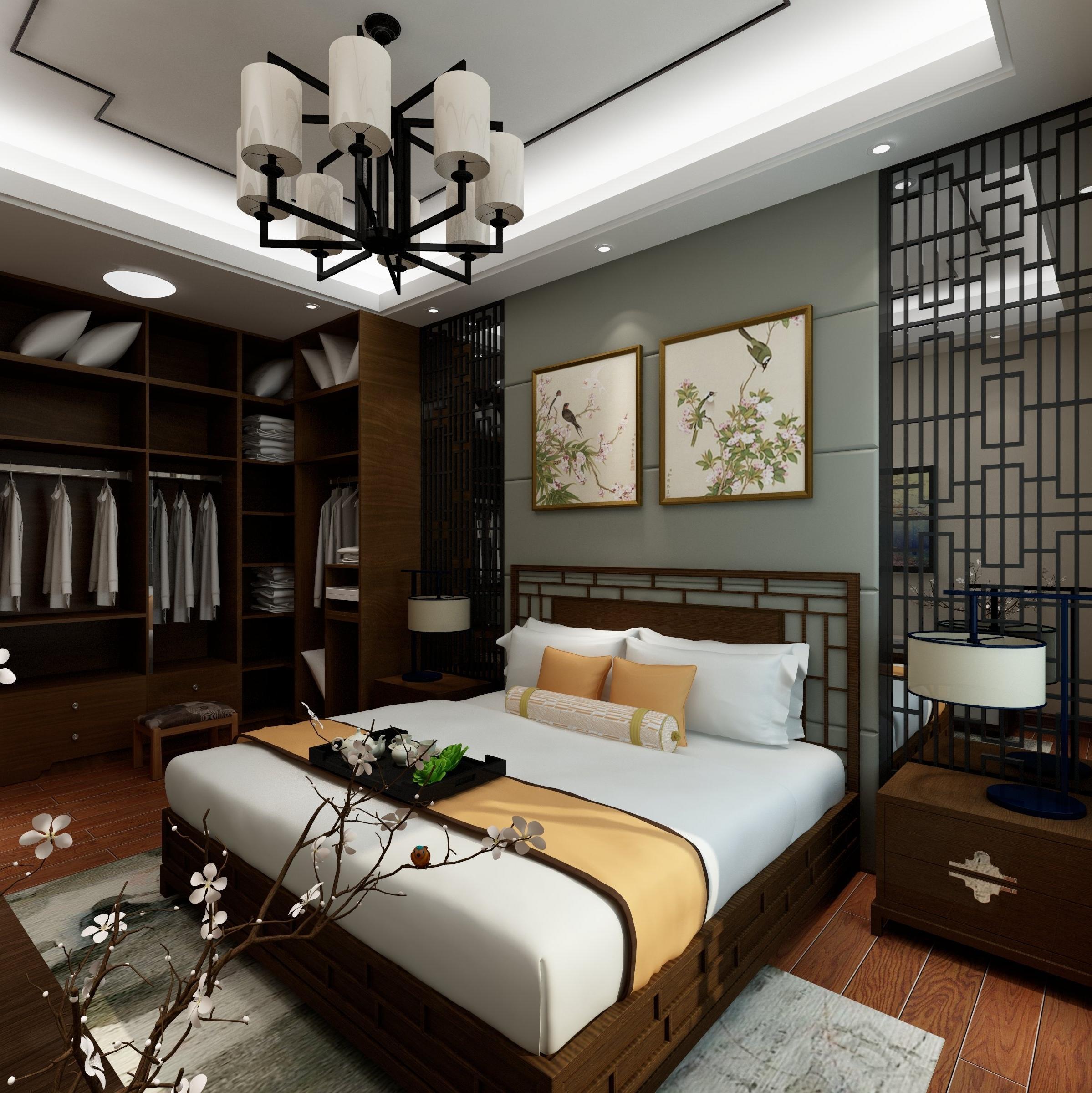 钟情江南庭院 10-15万装修50平米装修小户型装修北欧风格 0 110㎡北欧