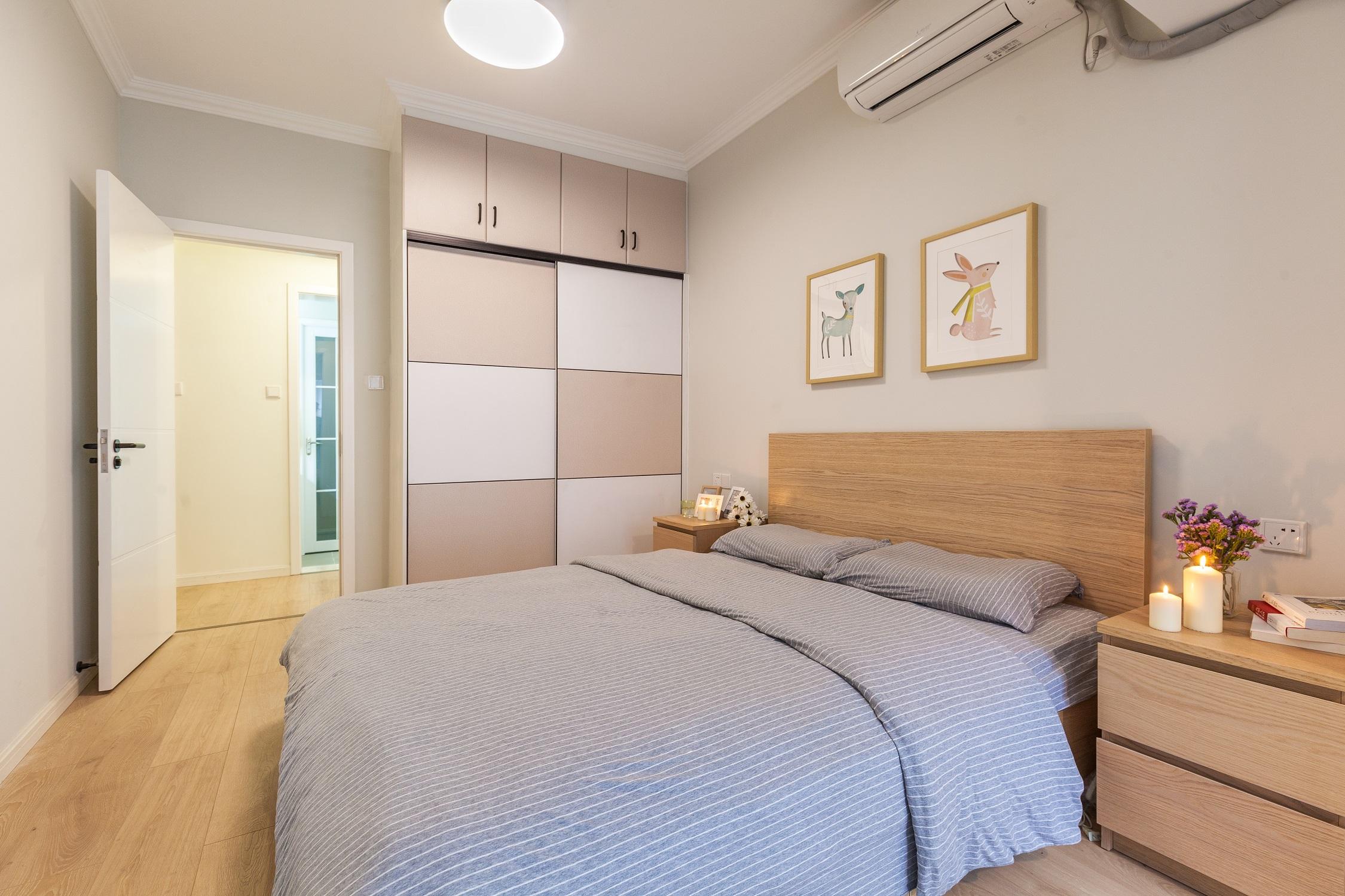 装修效果图 家居美图 新古典风格公寓经济型120平米卧室海外家居