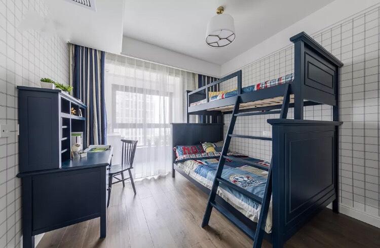 二胎时代的开放,上下铺,大house摆双人床必将成为今后儿童房