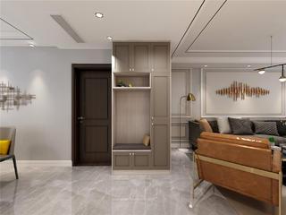 现代轻奢风格玄关装修设计效果图