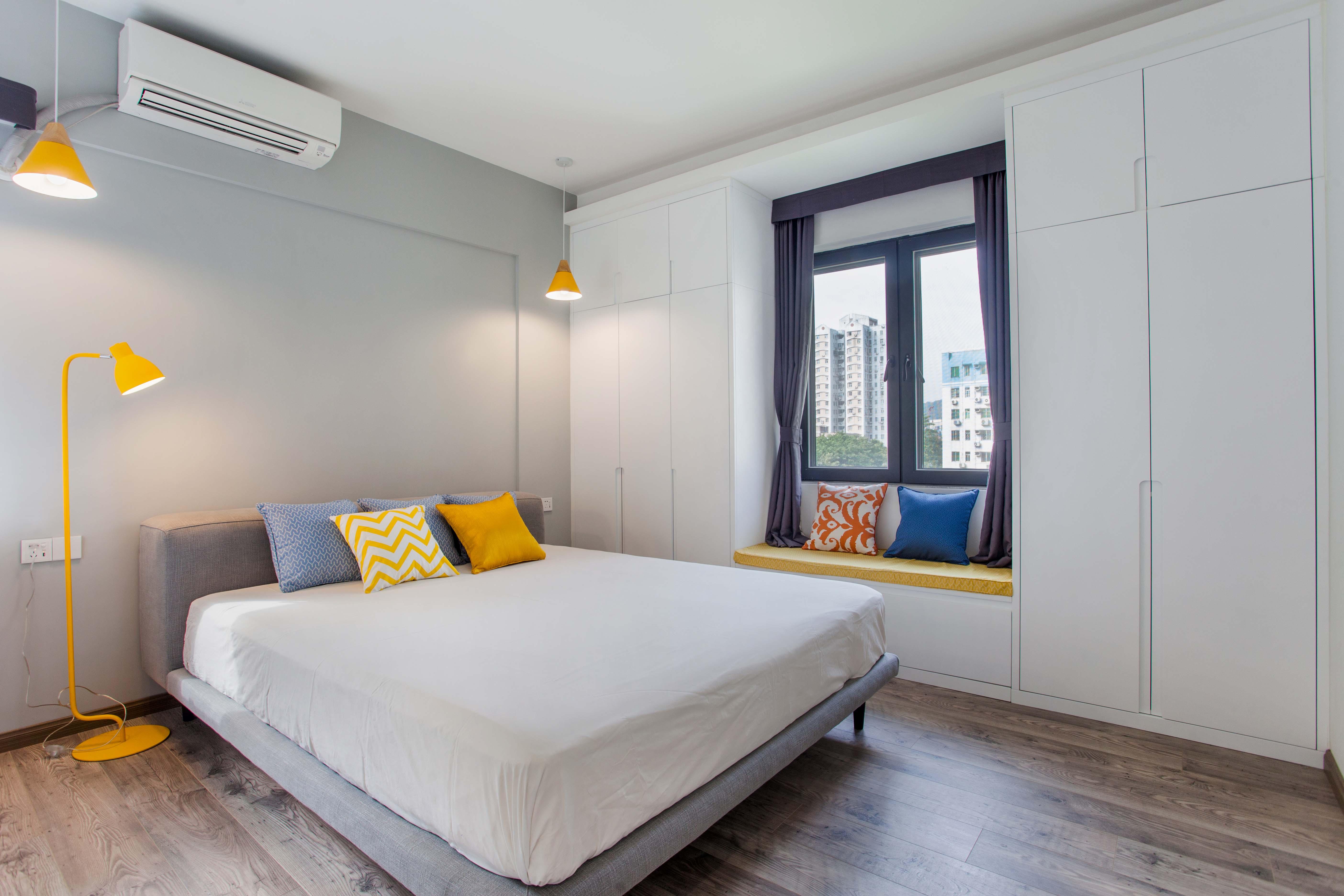 混搭三居卧室装修设计效果图_齐家网装修效果图