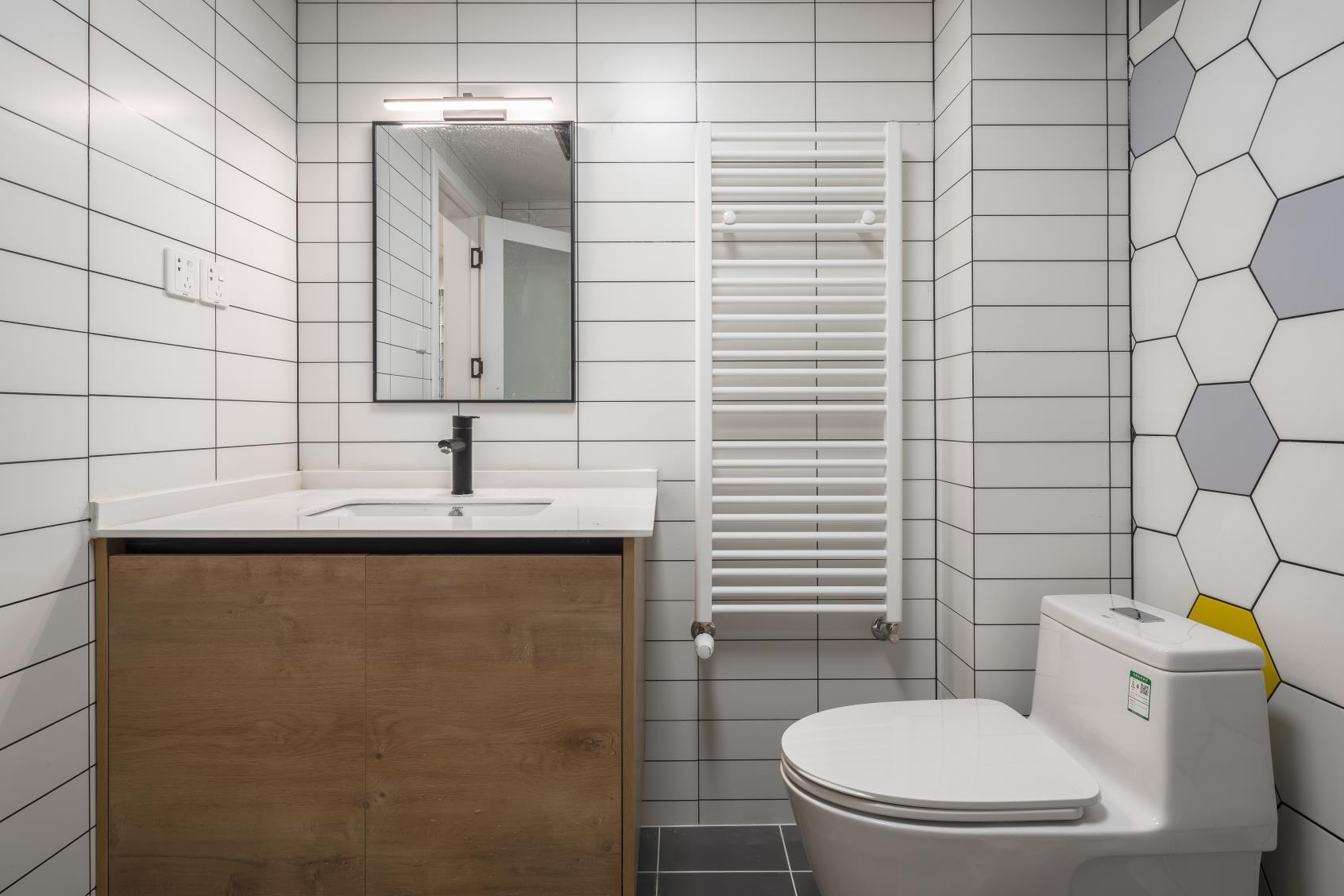 29㎡小户型卫生间装修效果图
