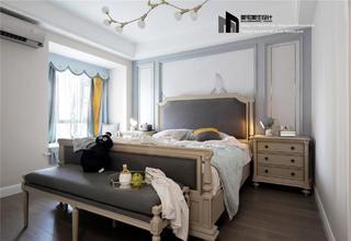 136平美式风格卧室装修效果图