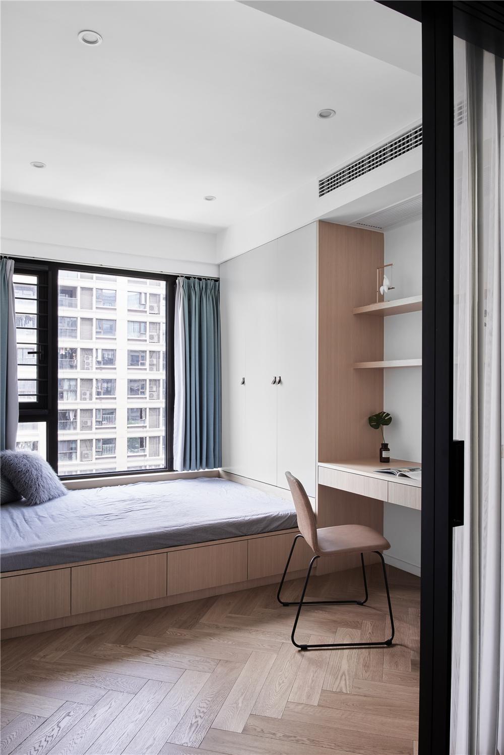 82㎡现代三居客厅装修效果图