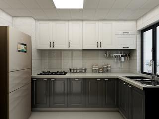 90平现代风格二居厨房装修效果图