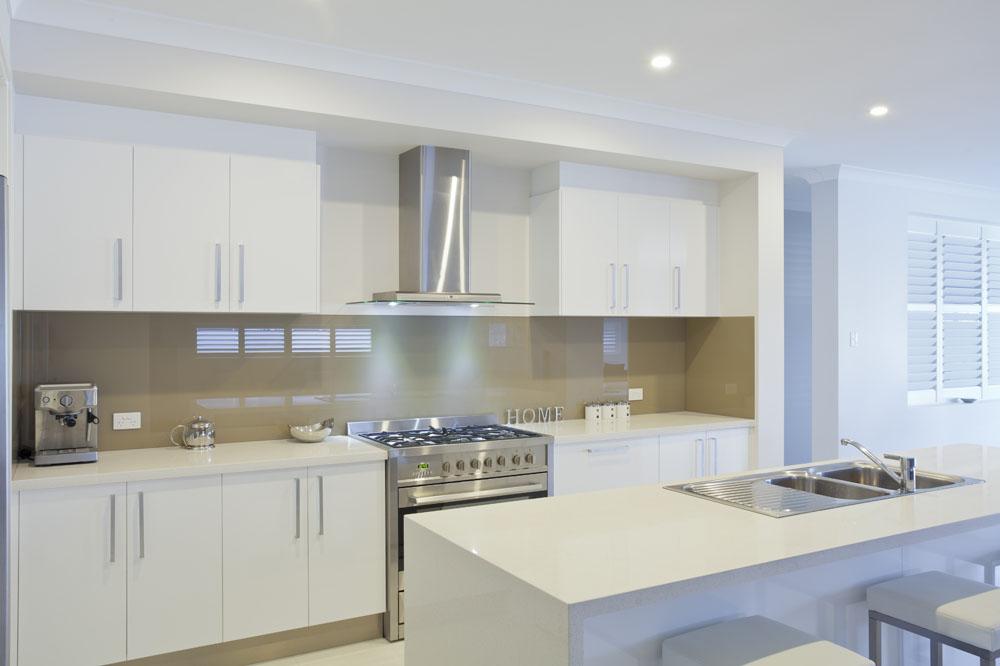 整体厨房 白色