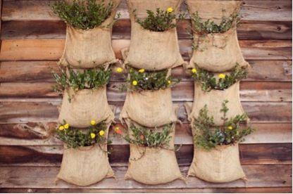 植物 布袋 裝修