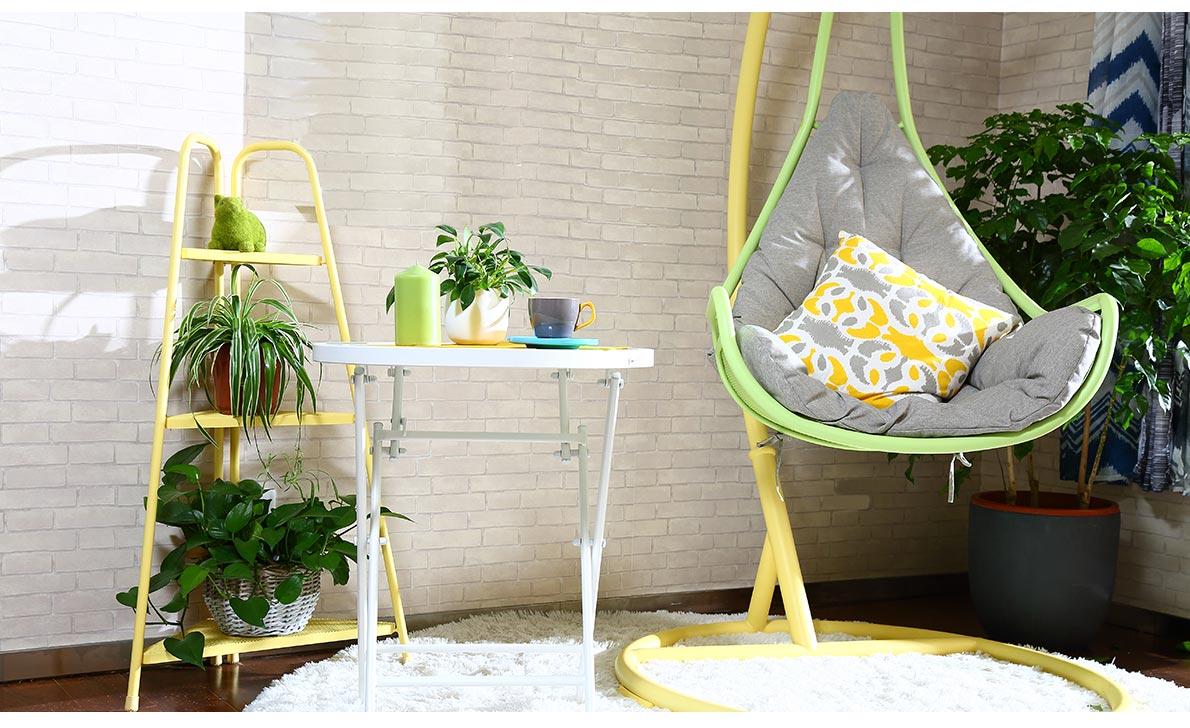 阳台 吊椅
